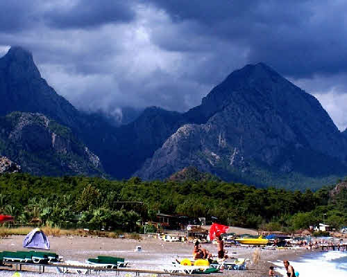 Погода на курортах турции в октябре 2012